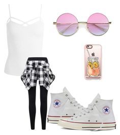 """Untitled #97"" by sofiajas on Polyvore featuring Sans Souci, Converse, Casetify, summercamp and 60secondstyle"