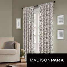 Madison Park Ella Curtain Panel | Overstock.com Shopping   Great Deals On  Madison Park