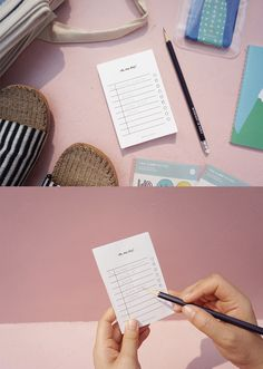Oh, my day can always stay productive thanks to this to-do notepad! I carry this compact notepad with me and make various checklists for my work, study, projects, events, shopping and other every time!