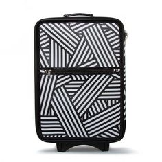 Fly With Me - Luggage / Suitcase - cool black and white design