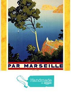 """P.L.M. - Les Iles Baleares"" A4 Glossy Vintage Railway Poster Art Print from The Andromeda Print Emporium https://www.amazon.co.uk/dp/B0721TGDSJ/ref=hnd_sw_r_pi_dp_J17qzb4WAXS87 #handmadeatamazon"