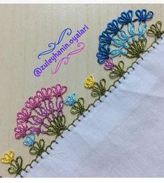 Needle Lace, Bobbin Lace, Tatting, Diy Crafts, Embroidery, Check, Scrappy Quilts, Towels, Crochet Edging Patterns