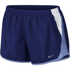 Nike 10K Shorts ($24) ❤ liked on Polyvore featuring activewear, activewear shorts, nike, nike sportswear and nike activewear