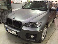 BMW X6. Matte Dark Grey .