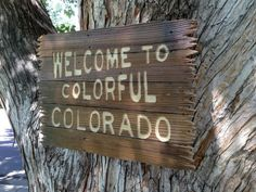 Hey, I found this really awesome Etsy listing at https://www.etsy.com/listing/158989432/wood-sign-by-colorado-joes-welcome-to
