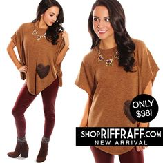 KNOT IN LOVE TOP - CAMEL