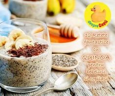12 retete spectaculoase cu quinoa pentru bebelusi si copii | Desprecopii.com Toddler Meals, Kids Meals, Brunch Recipes, Baby Food Recipes, Baby Dishes, Quinoa, Healthy Halloween Treats, Mothers Day Brunch, Raw Vegan
