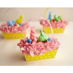 Mini Easter Basket Cake How-to | Cakegirls