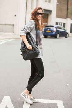 Barbara Palvin #model #LFW Men #streetstyle