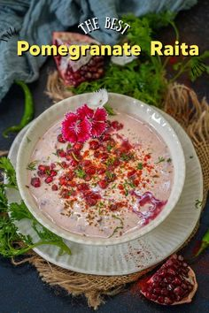 Indian Food Recipes, Asian Recipes, Pomegranate Juice, Middle Eastern Recipes, American Food, Sweet And Spicy, Yogurt, Good Food, Spices