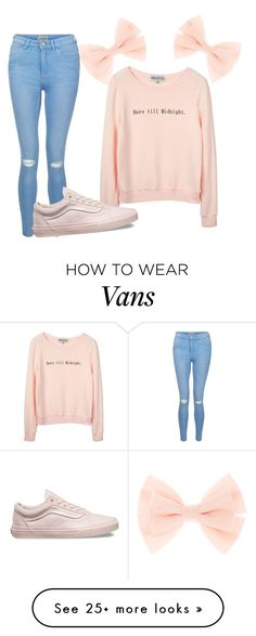 """here till midnight"" by fxckin-nxtalia on Polyvore featuring New Look, Wildfox and Vans"