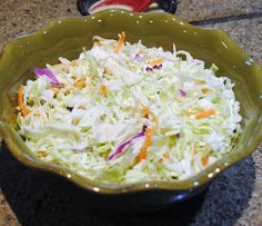 Classic coleslaw recipe. I make it exactly as described.