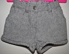 a266694aa H M Baby Boys Black Faded Denim Cargo Jeans Elasticated Waist Age 9 ...