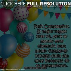 Saludos de cumpleaños Amor: aunque no estemos juntos Dado, Club, Happy Birthday Love, Love Of My Life, Postcards, Birthday Greetings, Thoughts