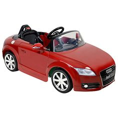 Charlotte would like this please!!!  Buy Audi TT Roadster Ride-On Online at johnlewis.com