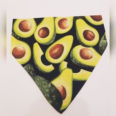 Avocado Slip On The Collar Dog Bandana dog collar fabric Your place to buy and sell all things handmade Boy Dog Clothes, Crochet Dog Clothes, Small Dog Clothes Patterns, Clothing Patterns, Avocado Smoothie, Girl And Dog, Happy Birthday, Fruit Displays, Fennec Fox
