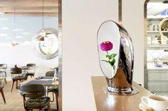 Restaurant Hafen Romanshorn, Interior Susanne Fritz Architekten, Photo © Pierre Kellenberger