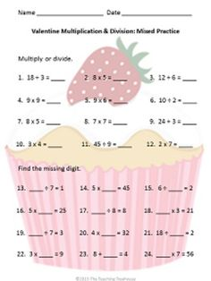 math worksheet : multiplication multiplication facts and worksheets on pinterest : Multiplication And Division Word Problems Worksheets 4th Grade