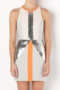 sass & bide | THE ESTABLISHED - fluro orange | dresses | sass & bide