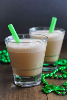 MINTY AND BOOZY ST. PATTY'S DAY ICED COFFEE - A little peppermint extract adds just the right amount of refreshing sweetness (while also making coffee breath a bit more bearable).