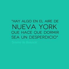 Reserva tu hotel en Nueva York y conoce la magia de este lugar. #NY #NuevaYork #Quote #Frases