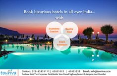 Enjoy the luxurious lifestyle of hotels in all over India ..no need to dig deep in your pockets..so book now!!!