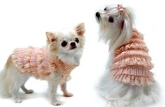 Indulge Me Dog Sweater by Oscar Newman  - $59.95 and up     I love this designer, he is amazing!!!