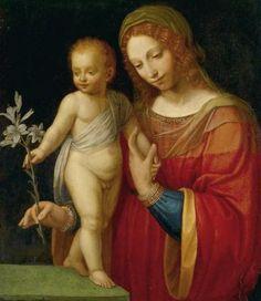 Bottega di Bernardino Luini - Madonna and Child