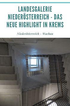 Seit Mai 2019 hat die Kunstmeile Krems ein neues Highlight Budapest, Reisen In Europa, Austria, Highlight, Stairs, Hat, Happiness, Travel, Explore