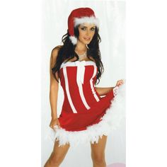 Amorable - Julekjole med Hvit Boa Kant Christmas, Dresses, Design, Fashion, Xmas, Vestidos, Moda, Fashion Styles, Navidad
