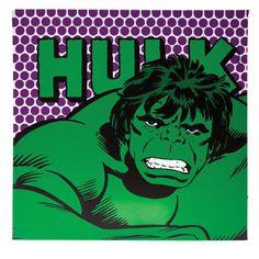 Quadro Hulk com LED