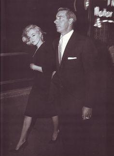 Marilyn Monroe & Joe DiMaggio...