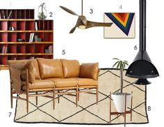 Kimber's Warm, Modern & Practical — DREAM LIVING ROOM INSPIRATION