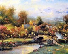 Thomas Kinkade Painting 75.jpg