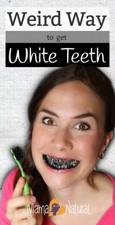 Whiten your teeth with activated charcoal?!? It's weird, but it works! In this post and video, I'll show you how to do it :) #whiteteeth