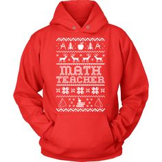 Math Teacher - Ugly Sweater