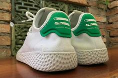 adidas NMD Human Race Pharrell Williams Shoes Green Size Uk6.5