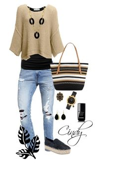"""""""Spring & Summer"""" by cindy32tn on Polyvore featuring Abercrombie & Fitch, Free People, Steve Madden, Saks Fifth Avenue, Arte d'Oro, Gucci, Salvatore Ferragamo, Bling Jewelry and Chanel"""
