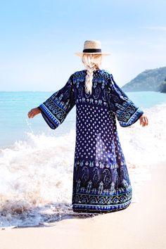 GypsyLovinLight wearing Her Empire Kimono