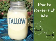 Rendering Fat Into Tallow