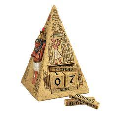 Egyptian Icons Perpetual Calendar Statue