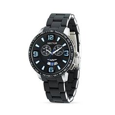 Sector Men's R3273619002 Marine Analog Stainless Steel Watch by Sector -- Awesome products selected by Anna Churchill