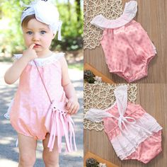 Awesome Newborn Infant Baby Girls Romper Bodysuit Jumpsuit Outfits Sunsuit Clothes US 2017-2018
