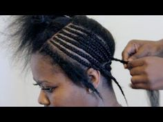 Basic Full Weave Installation (Intersecting Braid Pattern) Part I - YouTube