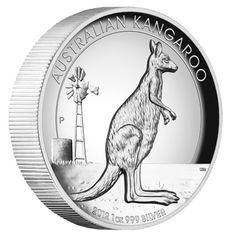 EL CANGURO AUSTRALIANO,MONEDA DE GRAN RELIEVE - AUSTRALIA 2012