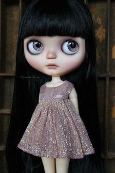 Custom OOAK Blythe ART  Doll - Ink-  by Cupcake Curio | Dolls & Bears, Dolls, By Brand, Company, Character | eBay!