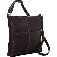 Le Donne Leather Easy Slip Crossbody Cafe >>> See this great product.