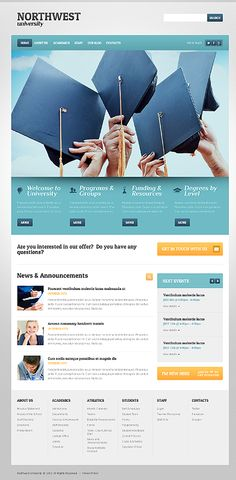 Hand picked collection best responsive education WordPress themes for university, college, school, online courses and other education related websites. North West, Online Courses, Wordpress Theme, Web Design, University, Education, This Or That Questions, Digital, Templates
