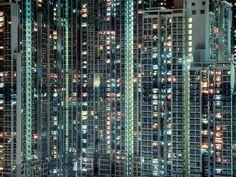 Surreal Photos of Hong Kong's Aging Towers