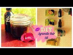 DIY henna, amla and brahmi hair oil (ayruvedic) - YouTube